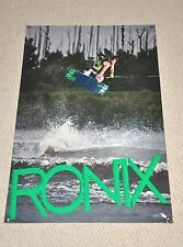 RONIX ONE 2014 BANNER 48X32 Juice Green Danny Harf Wakeboard With DECAL Stickers