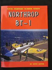 Northrop BT-1 by Ginter - 220+ b/w photos, plus diagrams, data tables; 88 pages