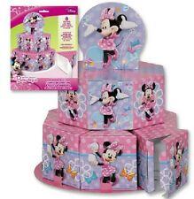 Disney MINNIE MOUSE ~ Favor Boxes Table Centerpiece Decoratio  ~ Birthday Party