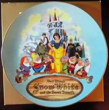 Christmas 1987 Third Edition Plate Disney's Snow White and the Seven Dwarfs