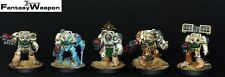 Brother Zael & Death Wing Terminatos   Pro Painted NMM   space hulk marines