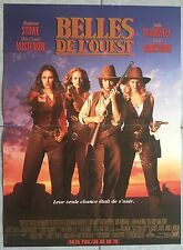 Affiche BELLES DE L'OUEST Bad Girls MADELEINE STOWE Andie MacDowell 40x60cm *