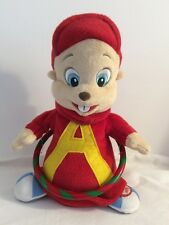 Alvin And The Chipmunks Singing Dancing Hula Hoop Stuffed Plush Works