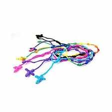 12pcs Handmade Rosary Cross Decenarios Bracelets, in USA, Free Shipping - DB10