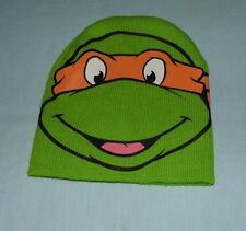 Child Knit Beanie Hat - Nickelodeon 2014 Teenage Mutant Ninja Turtles TMNT  EUC