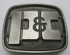 Vintage Belt Buckle P & C Lewis Corp. Palatine IL. Made in USA