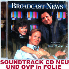 Broadcast NEWS-BILL CONTI-Bande originale CD NEUF et OVP dans film