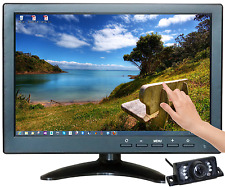 "10.1"" Multimedia Player Touch Screen HDMI AV BNC VGA TFT LED Monitor Camera AU"