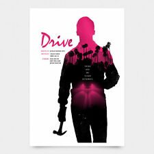 Drive Alternative Movie Poster Art Print Signed NT Mondo