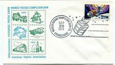 1974 Westar Communication Satellite Midwest Postage Chicago USA Space NASA