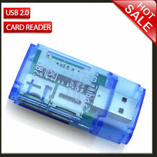 all in 1  SDHC SD MMC Micro SD TF M2 M5 Duo Memory Card Reader USB 2.0 Adapter