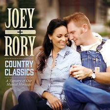 Joey + Rory - Country Classics [Digipak] CD 2014 Gaither Music Group  ** NEW **