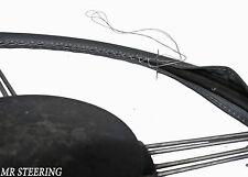 Pour chevrolet bel air MK5 nn. 61-64 véritable cuir gris foncé volant couvrir de nouveaux
