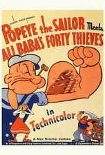 POPEYE THE SAILOR MEETS ALI BABA AND THE FORTY THIEVES Movie POSTER 27x40 B Jack