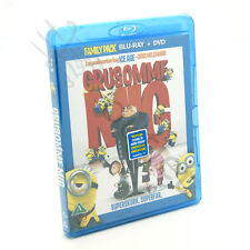 Despicable Me Blu-ray + DVD Film Movie - NEW SEALED Kids Children Family Cartoon