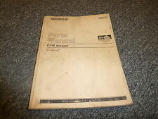 Caterpillar Cat 631E Motor Scraper Parts Catalog Manual