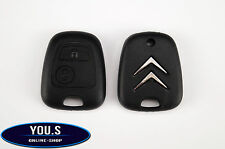 Citroen C3 Spare 2 Buttons Radio Remote Control Key Casing Cover - NEW
