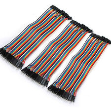 40 x 20CM Dupont Wire Color Jumper Cable 2.54mm 1P-1P Male to Female For Arduino