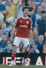 WEST BROM HAND SIGNED SHANE LONG 12X8 PHOTO.