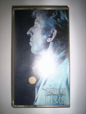 K7 VIDEO VHS SERGE GAINSBOURG LIVE / ED. PMV