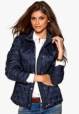RRP £195 Tommy Hilfiger Ladies Navy Blue Nova Down Jacket Size Large / 10