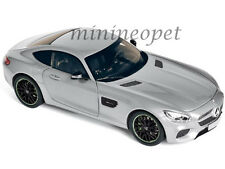 NOREV 183495 2015 15 MERCEDES BENZ AMG GT 1/18 DIECAST MODEL CAR SILVER