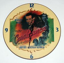 CASABLANCA 1942 Hollywood Romance Movie WALL CLOCK New