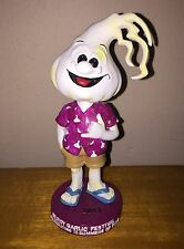 2013 - 35 YEARS GILROY GARLIC FESTIVAL LIMITED EDITION BOBBLEHEAD MASCOT - RARE