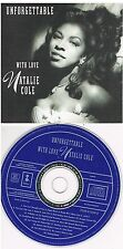 Natalie Cole ‎– Unforgettable With Love CD 1991