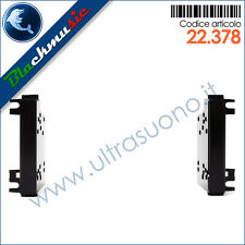 Mascherina supporto autoradio 2DIN Chrysler 300 C (2008-2011) Nero