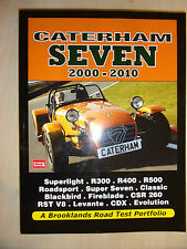 Caterham Seven '7' Road Test Portfolio BOOK MANUAL inc BUYERS GUIDE 2000-2010