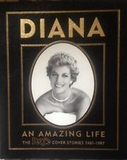 PRINCESS DIANA EASTON PRESS AN AMAZING LIFE PEOPLE MAGAZINE COVERS LEATHER BOOK