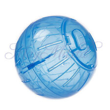 Pet Rodent Mice Jogging Hamster Gerbil Rat Play Plastic Toy Exercise Ball New Q