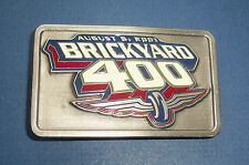 2001 BRICKYARD 400 NASCAR AUTO RACING Belt Buckle-Jeff Gordon Limited Edition