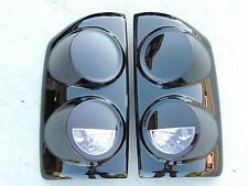 07-08 Dodge Ram Truck Custom Smoked tail Lights Black OE Tinted non led painted
