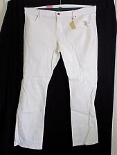 Old Navy Ladies Cream Sparkle Effect Jeans Size 18 BNWT