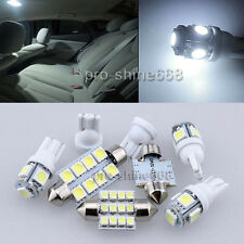 10PCS White Interior LED Light Bulbs Package Kit for 02-11 Dodge Ram 1500-3500