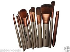 Makeup Brush Set - 12 Piece Set with Storage Box