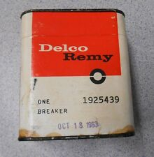 Delco Remy Distributor Breaker NOS in box Part number 1925439 dated Oct 18 1963