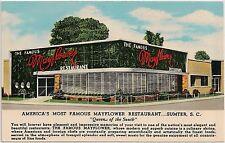 Mayflower Restaurant in Sumter SC Postcard