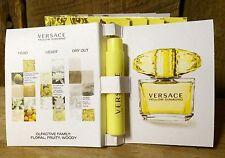 Versace Yellow Diamond EDT .03 OZ Sample Spray- Lot Of 5!