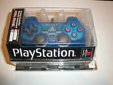BRAND NEW Sony Playstation 1 Island Blue PS1 Shock Controller SCPH-1200 UL/94085