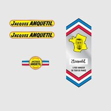 Jacques Anquetil Bicycle Frame Decals - Transfers - Stickers n.1