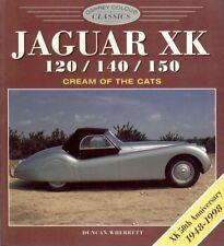 JAGUAR XK120 XK140 XK150 1948-1960 DESIGN DEVELOPMENT & PRODUCTION HISTORY BOOK