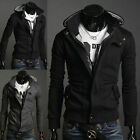 Men's Slim Fit Stylish Sweatshirt Hoodies Hooded Casual Coat Outwear Jacket New