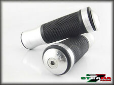Strada 7 CNC Silver Grips & Bar Ends Combo Honda CB1100/GIO special ST 1300 X-11