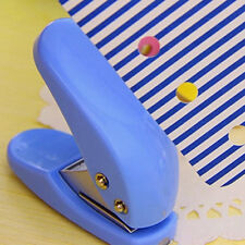 1pcs Scrapbooking Card Paper Hand Punch Circle Hole Confetti DIY Craft CN
