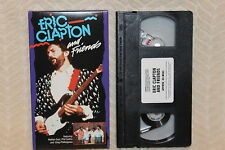 Eric Clapton and Friends (VHS)1992 Phil Collins-Nathan East-Greg Phillinganes