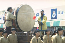 493060 Paekche Festival Street Parade Through Puyo Korea A4 Photo Print