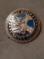 US AIRFORCE  Strategic Air Command Round 15/16 inch Pin